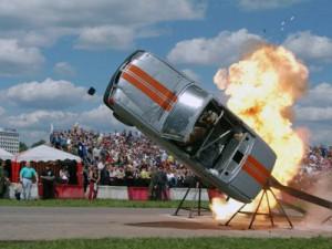 На стадионе «Спартак» покажут шоу авто- и мотокаскадеров
