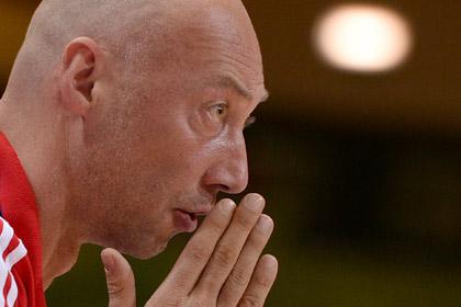 Наставник сборной России сохранил пост после провала на Евробаскете