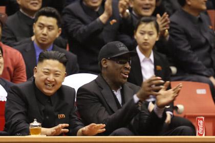 Деннис Родман возглавит сборную КНДР по баскетболу