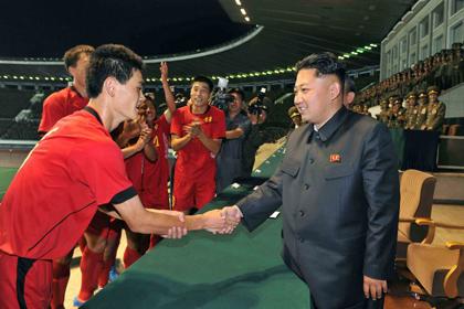 Обладателя Кубка КНДР по футболу признали виновным в нечестной игре