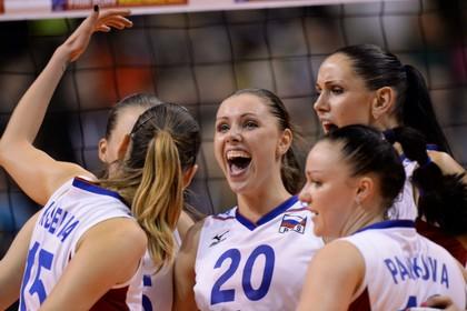 Россиянки выиграли чемпионат Европы по волейболу