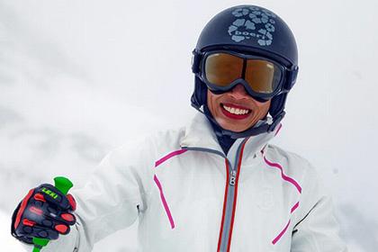 Ванессу Мэй дисквалифицировали на соревновании по горным лыжам