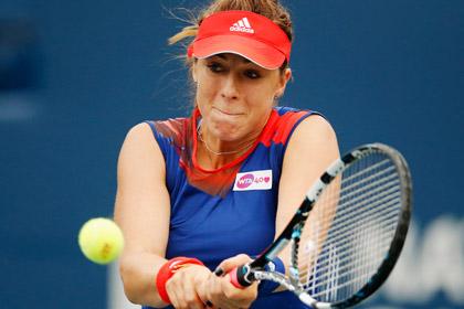 Павлюченкова победила на старте турнира в Сеуле