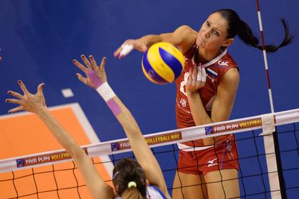 Российские волейболистки вышли в финал чемпионата Европы