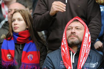 Фанатов «Спартака» и ЦСКА посадят на одну трибуну