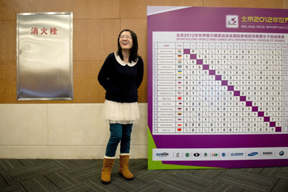 Украинская шахматистка проиграла матч за чемпионский титул