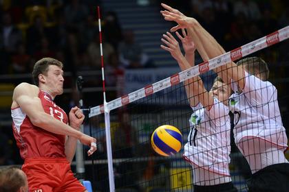 Российские волейболисты проиграли стартовый матч чемпионата Европы