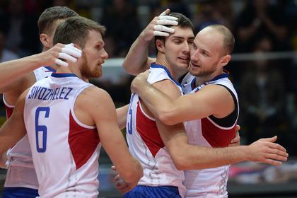 Россия вышла в плей-офф чемпионата Европы по волейболу