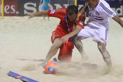 Определились участники плей-офф ЧМ по пляжному футболу