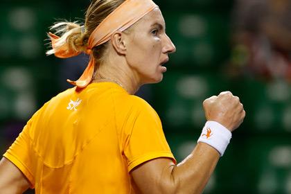 Кузнецова вышла в третий круг турнира в Токио
