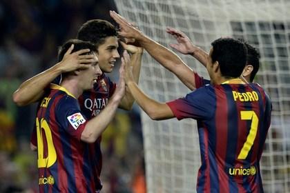 «Барселона» обыграла «Реал Сосьедад» в чемпионате Испании