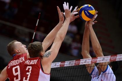 Россия вышла в 1/4 финала чемпионата Европы по волейболу