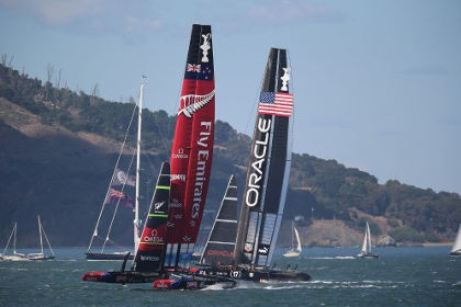 Команда Oracle одержала победу в регате Кубок Америки