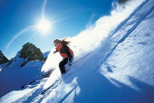 Катаемся на горных лыжах с удовольствием