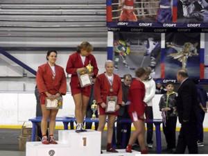 Гагаринская самбистка завоевала бронзу на всероссийском турнире