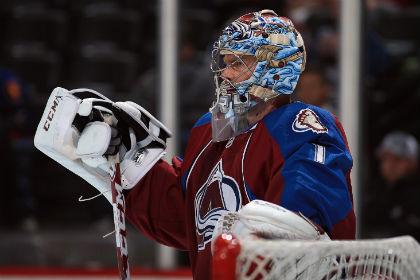Варламов стал третьей звездой матча НХЛ