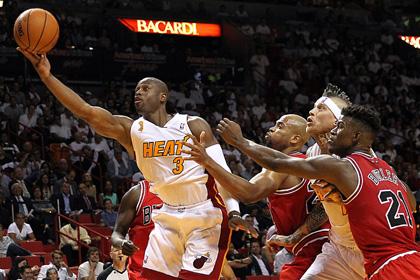 «Майами» победил «Чикаго» на старте сезона НБА