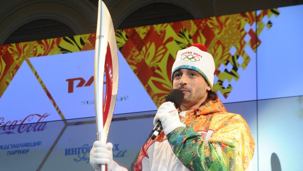 Факел олимпиады Сочи-2014 побывает и в космосе