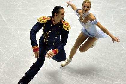 Российские фигуристы победили в парном катании на Гран-при в Токио