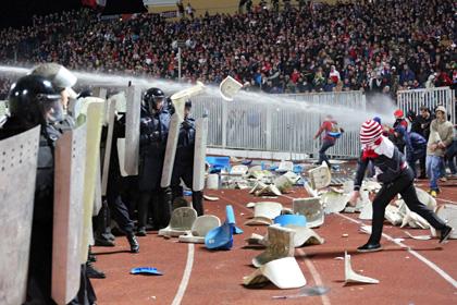 По факту беспорядков на матче «Шинник» — «Спартак» завели дело