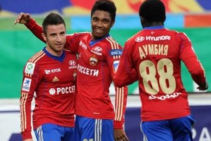 «Терек» с новым тренером крупно проиграл ЦСКА