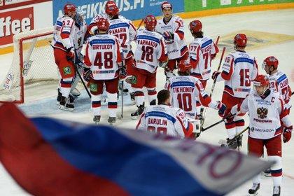 Российские хоккеисты стали вторыми на Кубке Карьяла