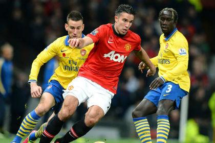 «Манчестер Юнайтед» обыграл «Арсенал» в матче премьер-лиги