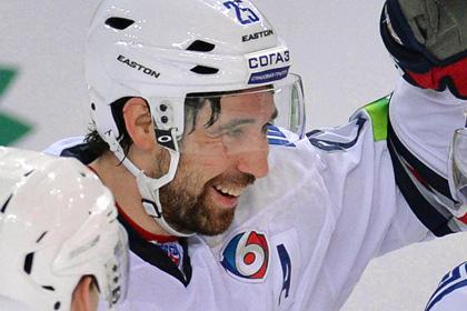 Лучший бомбардир КХЛ забросил шайбу в четвертой игре подряд