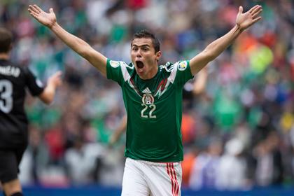 Мексиканцы забили пять голов в стыковом матче ЧМ-2014