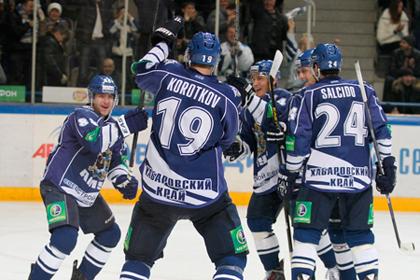 Аутсайдер КХЛ прервал серию поражений