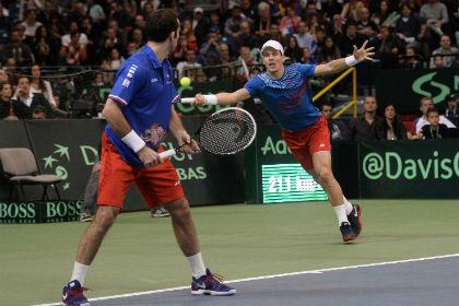 Чешские теннисисты вышли вперед в финале Кубка Дэвиса
