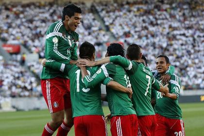 Сборная Мексики стала предпоследним участником ЧМ-2014