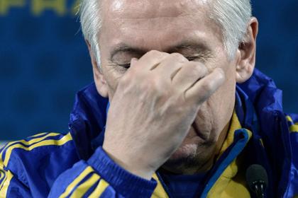 Тренер сборной Украины объяснил разгром от Франции ошибками судьи