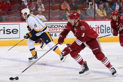 Клуб НХЛ отыграл три шайбы