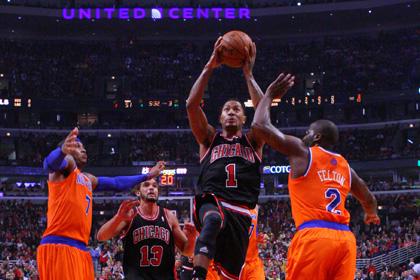 Бросок чемпиона мира принес «Чикаго» победу в матче НБА