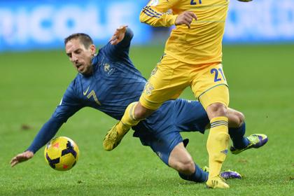 Рибери сломал ребро в матче со сборной Украины