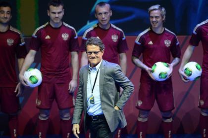 Прошла презентация новой формы сборной России по футболу