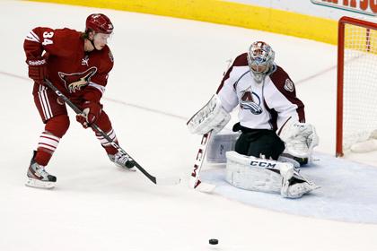 Варламов отразил 41 бросок в матче НХЛ