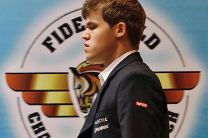 Магнус Карлсен стал чемпионом мира по шахматам
