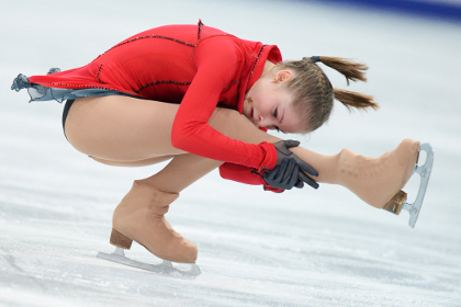 Фигуристка Липницкая выиграла этап Гран-при в Москве