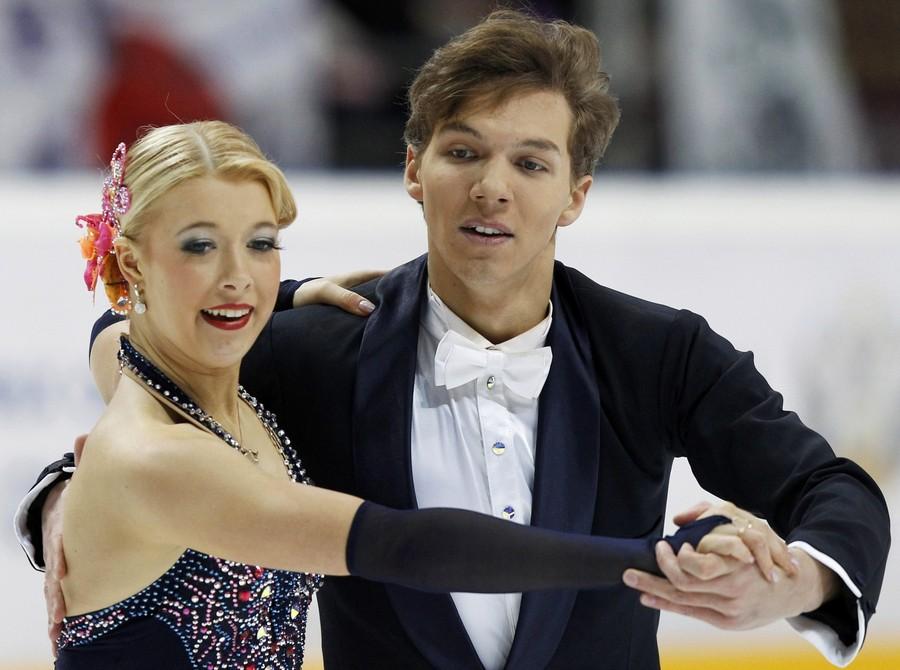 Российская пара выиграла московский этап Гран-при по фигурному катанию