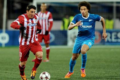 Автогол спас «Зенит» от поражения в матче с «Атлетико»
