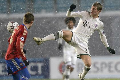 «Бавария» победила ЦСКА и установила рекорд Лиги чемпионов