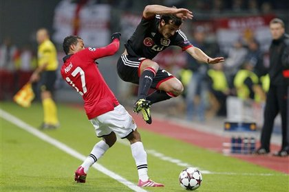 «Манчестер Юнайтед» забил пять безответных голов в матче Лиги чемпионов