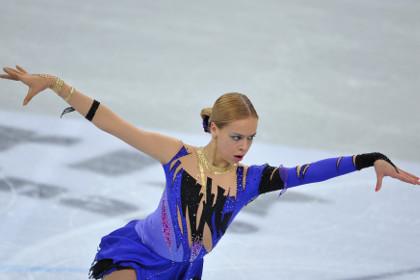 Российская фигуристка выиграла дебютный Гран-при