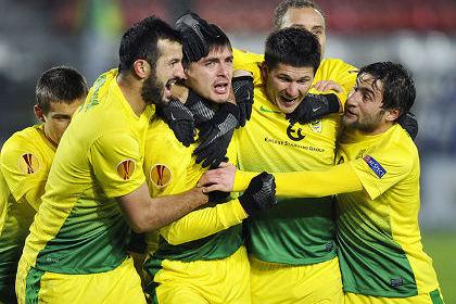 «Анжи» досрочно вышел в плей-офф Лиги Европы