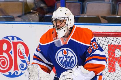 Илья Брызгалов сыграл «на ноль» в матче НХЛ