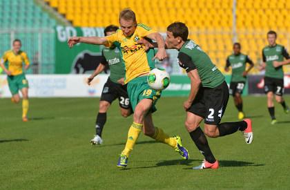 «Кубань» выиграла краснодарское футбольное дерби