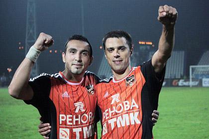 «Урал» забил единственный гол «Анжи» в компенсированное время