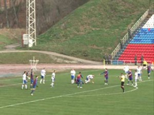 Смоленский «Днепр» сыграл вничью с псковскими футболистами
